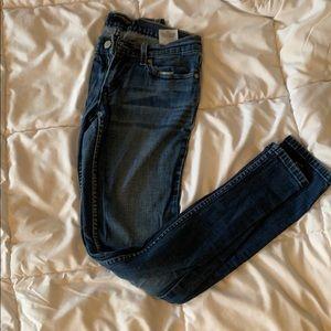 Levi's too super low jeans